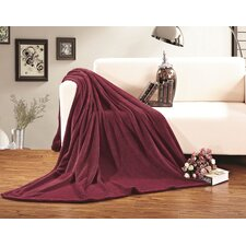 All Season Super Plush Luxury Fleece Throw Blanket