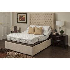 """Blossom 9"""" Memory Foam Mattress with M-1000 Adjustable Base Bed"""