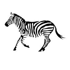 Tiny Zebra Wall Decal (Set of 50)