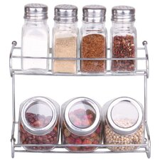 7 Piece Spice and Herb Container Set with Lid