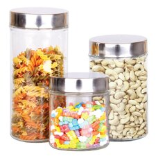 3-Piece Single Canister Set