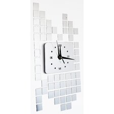 Pattern of Time - Modern Mirror Wall Art Clock