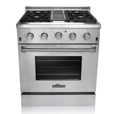 "4.2 Cu. Ft. Gas 30"" Convection Range"