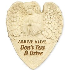 Arrive Alive Decorative Visor Clip (Set of 4)