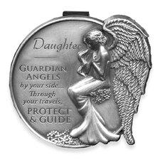 Daughter Guardian Angel Decorative Visor Clip (Set of 4)