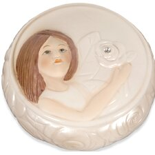 Precious Rose Angel Keepsake Jewelry Box (Set of 4)