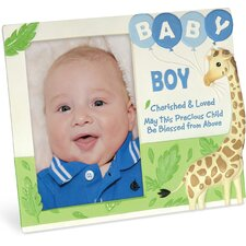 Cherished Blessings Boy Picture Frame