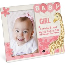 Cherished Blessings Girl Picture Frame