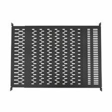1U Vented 4-Point Adjustable Shelf