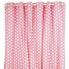 Posh in Paris Cotton Shower Curtain