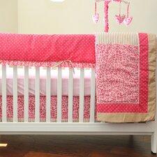 Cheetah 10 Piece Crib Bedding Set