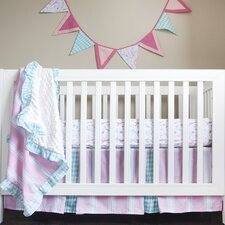 Posh in Paris Simply Posh 4 Piece Crib Bedding Set