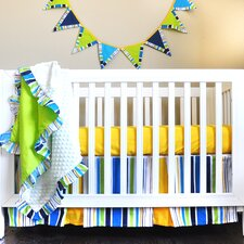 Rockstar Simply Bold 4-Piece Crib Bedding Set