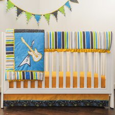Rockstar 10 Piece Crib Bedding Set