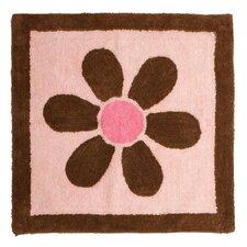 Pam's Pink Petals Rug