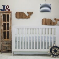 Anchors Away Nautical Basics 2 Piece Crib Bedding Set