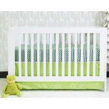 Zigzag Elephant Chevron Basics 2 Piece Crib Bedding Set