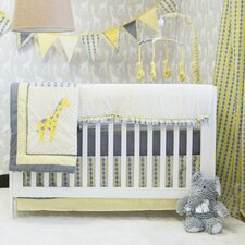 Argyle Giraffe 10 Piece Crib Bedding Set