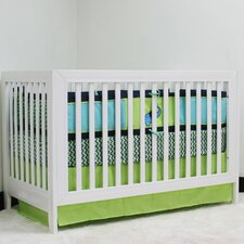 Zigzag Essentials 3 Piece Crib Bedding Set