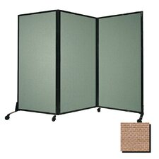Afford-a-Wall Folding Portable Partition