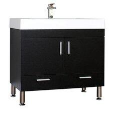 "Ripley 36"" Single Modern Bathroom Vanity Set"