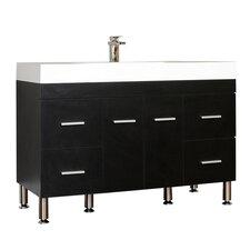 "Ripley 47"" Single Modern Bathroom Vanity Set"