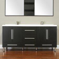 "Ripley 67"" Double Modern Bathroom Vanity Set"