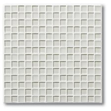 "Studio 0.75"" x 0.75"" Glass Mosaic Tile in Oyster"