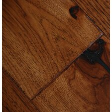 "Farmhouse 7-1/2"" Engineered Hickory Hardwood Flooring in Chalet"