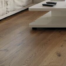 "7-16/25"" Classic Direct Print Plank - Micro Bevel Cork Hardwood Flooring in Oak"