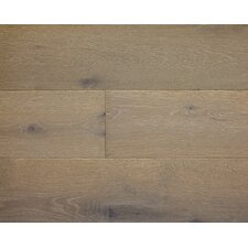 "American Traditions 7"" Engineered White Oak Hardwood Flooring in Coastal Storm"