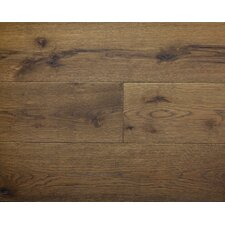 "American Traditions 7"" Engineered White Oak Hardwood Flooring in Falcoln"
