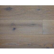 "American Traditions 7"" Engineered White Oak Hardwood Flooring in Zinc"
