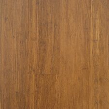"""3-6/7"""" Solid Bamboo Hardwood Flooring in Light Carbonized"""