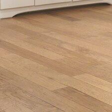 "5"" Engineered Hickory Hardwood Flooring in Golden Wheat"
