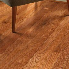 "2-1/4"" Solid Oak Hardwood Flooring in Gunstock"
