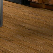 "5"" Engineered Hickory Hardwood Flooring in Toasted Caramel"