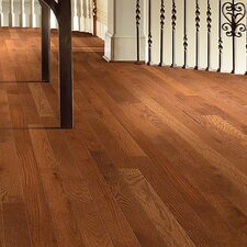"3-1/4"" Solid Oak Hardwood Flooring in Leather"