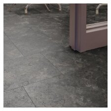 "12"" x 18"" x 3.05 mm Luxury Vinyl Tile in Mountain Slate"