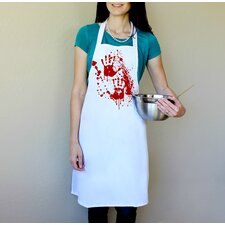 100% Cotton Bloody Hands Apron