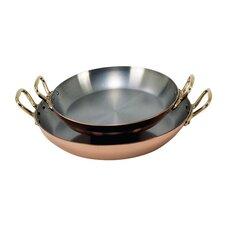 Inocuivre Bronze Handles Round Dish
