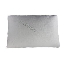 Natural Touch Bamboo Rayon Memory Foam Traditional Pillow