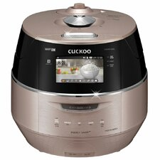 Cuckoo 10 Cup LCD Display IH Electric Pressure Rice Cooker