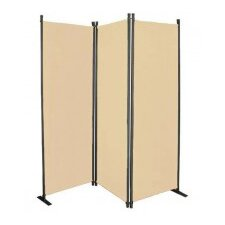 170cm x 167cm 3 Panel Indoor/Outdoor Room Divider
