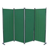 3-tlg Raumteiler 180 cm x 181 cm