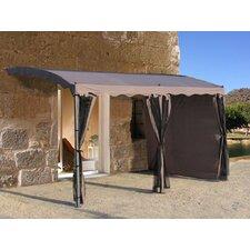 3-tlg. Seitenwandset Anbaupergola Mallorca