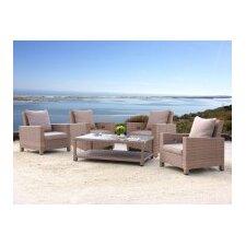 5-tlg. Lounge-Set Lanzarote mit Kissen