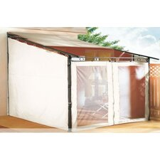 3m Quadratisch Rollpavillon