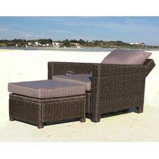 Verstellbarer Sessel Ibiza mit Auflage