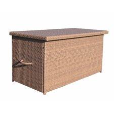 480 L Aluminium and Rattan Storage Box